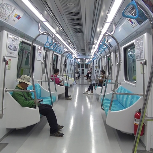 Incheon Metro Line 2, Incheon (South Korea)