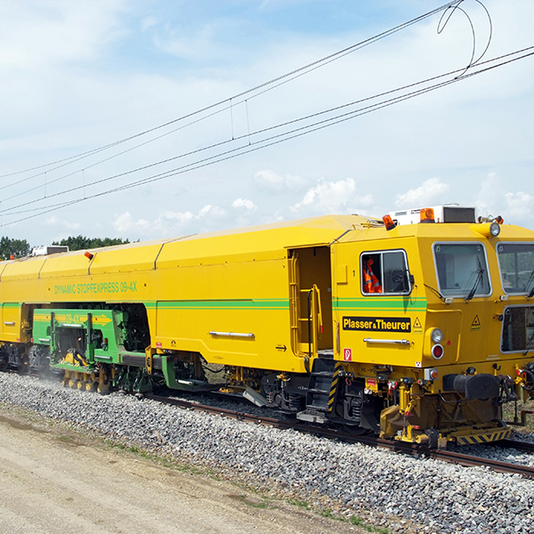 Plasser & Theurer rail construction machines,  Linz (Austria)