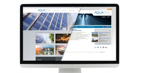 New AQUASYS website