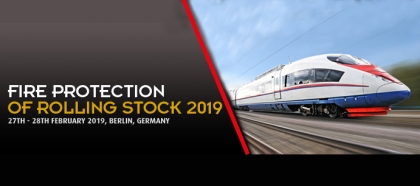 Fire Protection of Rolling Stock 2019 – mit AQUASYS