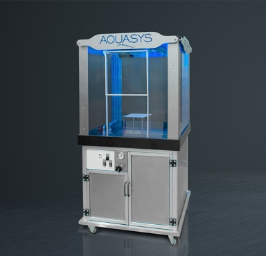 New mobile AQUASYS demo system