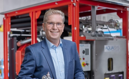 Josef Hainzl takes over management of AQUASYS