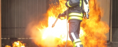 Test result confirmed: Water Mist Guns from AQUASYS highly effective for initial fire fighting